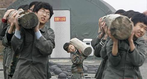 Пионерлагерь в Корее