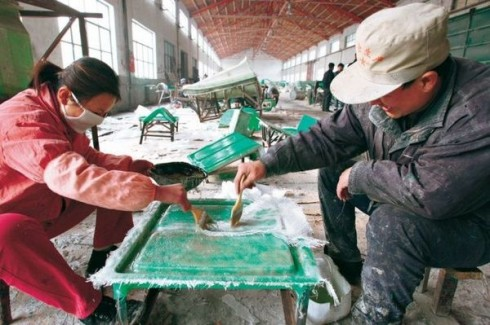 Как собирают Shuanghuan Noble.