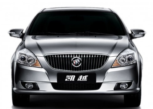 Buick Excelle — фейслифтинг.