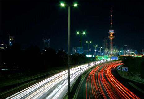 Красота городского трафика