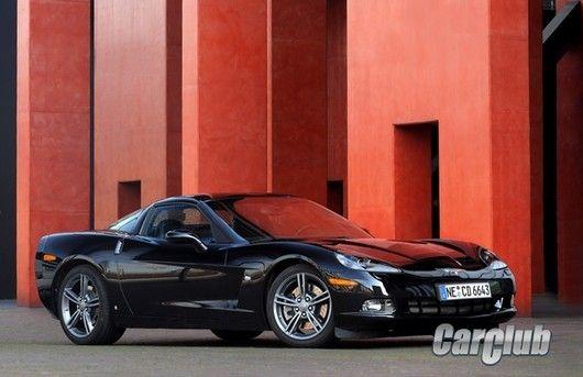 Европейский ураган Chevrolet Corvette C6 Competition