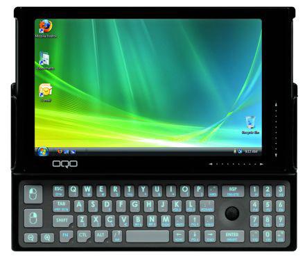 Виста в кармане или планшетный компьютер OQO e2