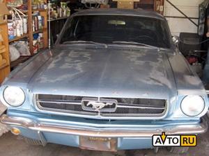 Угнанный в США Ford Mustang нашли через 38 лет