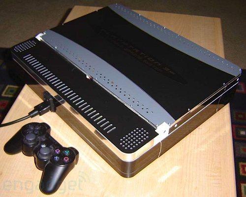 Sony PS3 превратили в ноутбук