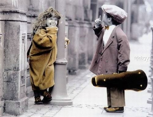 Дети и любовь (фото)