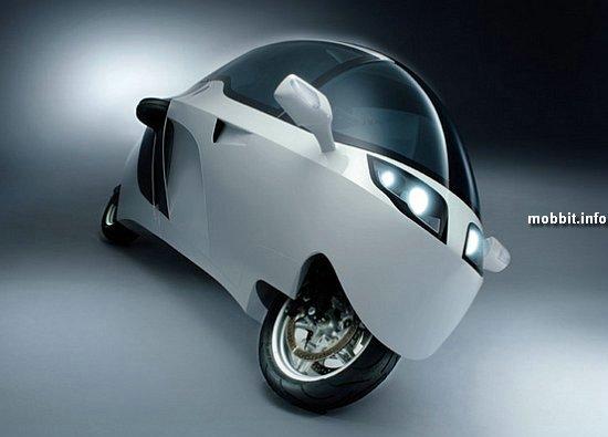MonoTracer – мотоцикл закрытого типа