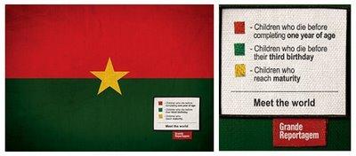 Флаги - краткое повествование цветов