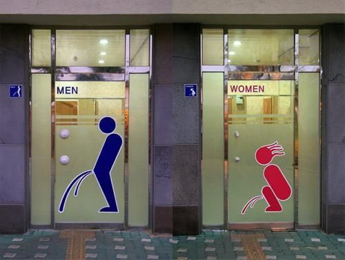 Таблички WC