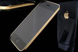 Еще одной вариацией Apple iPhone стала модель Gold Black Night Edition