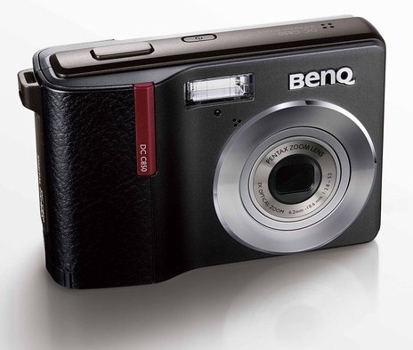 """Камеры BenQ C750 и C850 с """"кожаной"""" отделкой"""