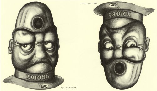 Лица Рекса Вистлера (7 картинок), сверни себе голову