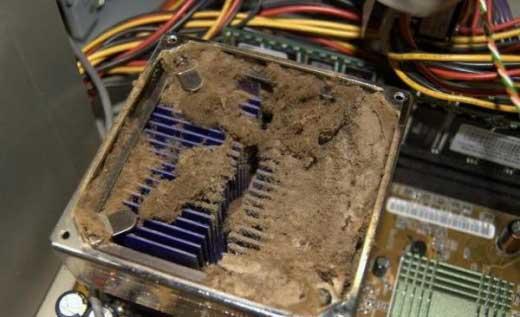 Компьютеры бывают разные - грязые, пыльные, страшные.