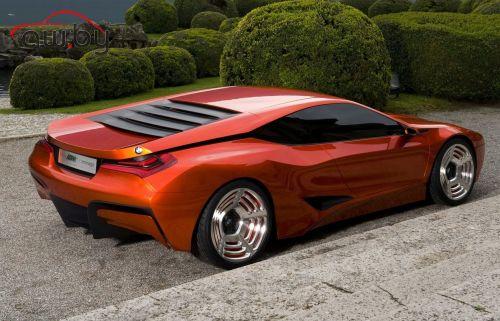 BMW показала новый суперкар M1 Hommage