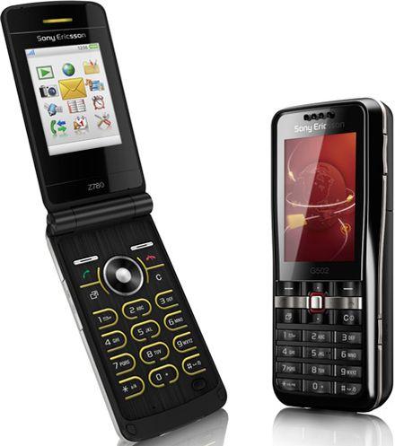 Sony Ericsson представила новые телефоны среднего класса