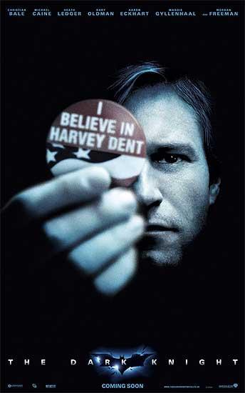 Плакаты фильма «Темный рыцарь» (The Dark Knight)