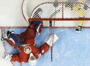 ЧМ-2008: Швеция в результативной игре обыграла Белоруссию