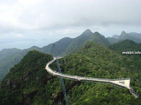 Возможно, самый жуткий пешеходный мост (+ видео)