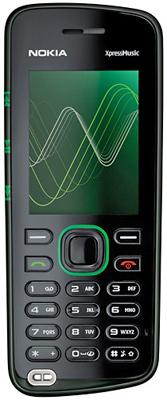 Nokia 5320 и Nokia 5220 — два новых музыкальных телефона серии XpressMusic