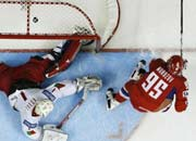 Хоккей ЧМ 2008. Россия - Беларусь 4:3 ШБ