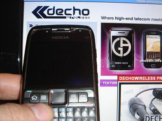 Необъявленный Nokia E71 опять засветился