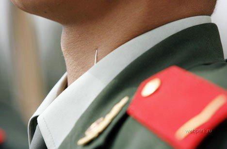 Тайна осанки китайских военных