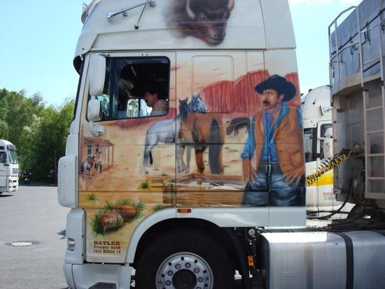 Грандиозная тусовка дальнобойщиков в Гайзельвинде