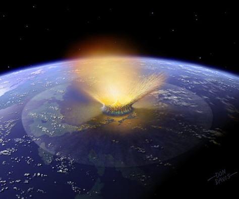 Катастрофа за Марсом породила убийц динозавров
