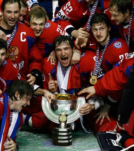 Россия - чемпион мира 2008 по хоккею!