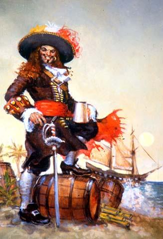 Быт пиратов. Часть 1