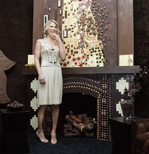 На Манхэттене открыли шоколадную комнату