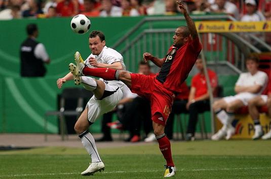 Беларусь сыграла вничью с Германией (фоторепортаж)