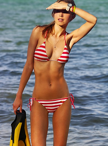 Пляжная мода'2008 от Victoria's Secret
