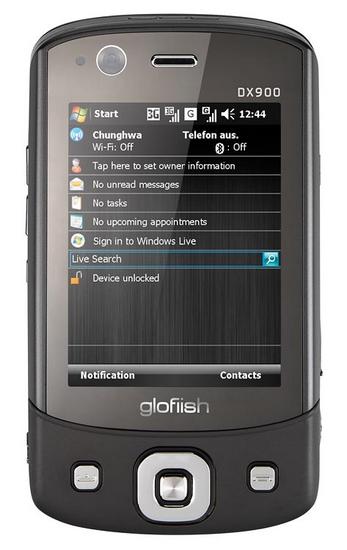 E-Ten показал коммуникатор glofiish с двумя SIM-картами