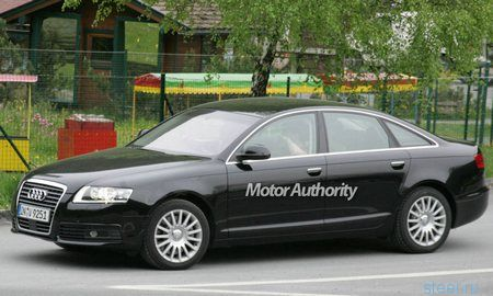 Шпионские фото обновленного седана Audi A6