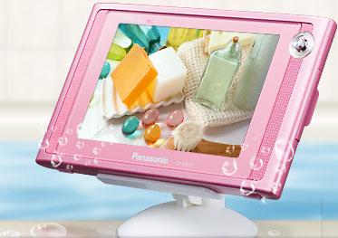 Медиаплееры Panasonic с ТВ-тюнером для ванной комнаты