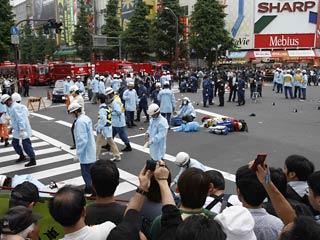 Якудза устроил резню в центре Токио