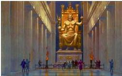 Семь чудес света: Статуя Зевса Олимпийского