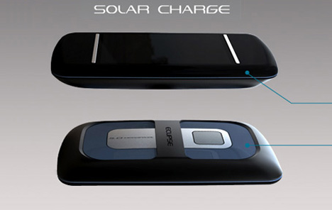 Концепт телефона Eclipse Intuit