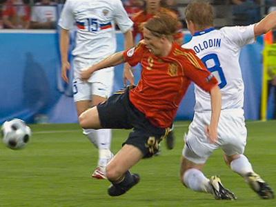 Сборная России потерпела разгромное поражение от Испании