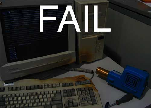 И снова FAIL