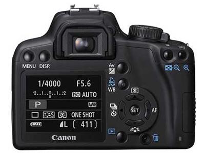 Canon EOS 1000D: официальный дебют