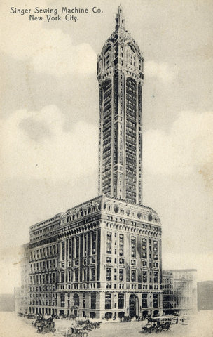 Предки небоскребов