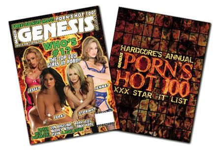 Журнал Genesis представил TOP-100 лучших порноактрис современности