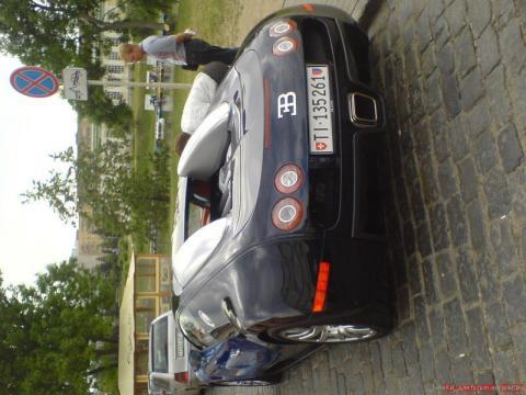 Bugatti Veyron в Минске