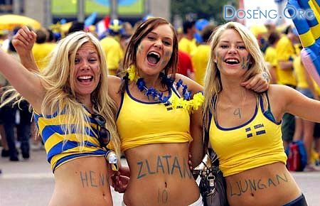 Они болеют за шведов