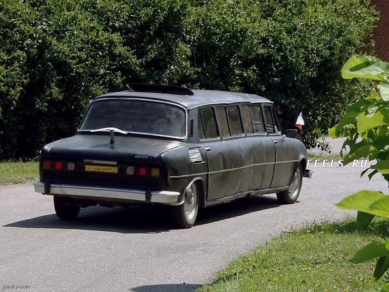 Самодельный лимузин фото