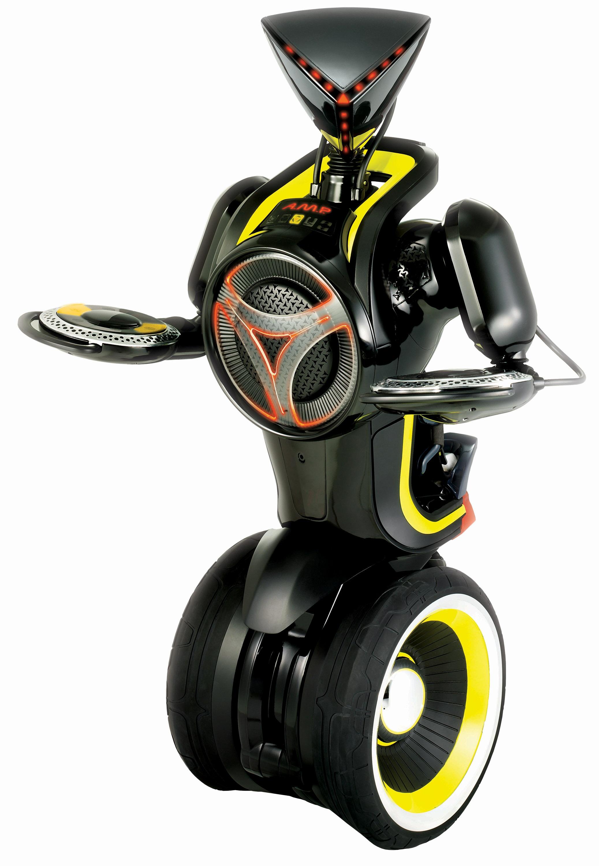 Робот-танцор на двух колесах