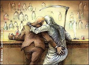 Алкоголизм передается по наследству через поколения