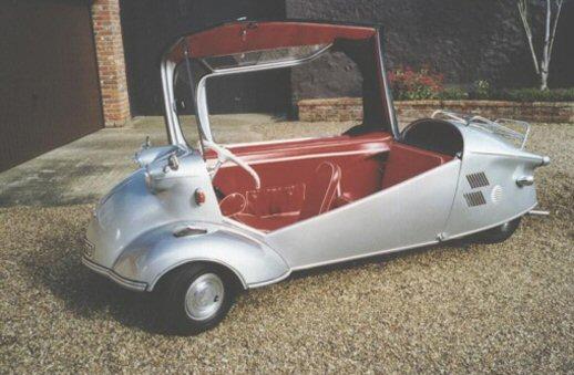 Автомобили Messerschmitt