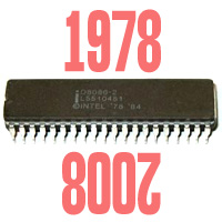 Легендарному Intel 8086 исполнилось 30 лет